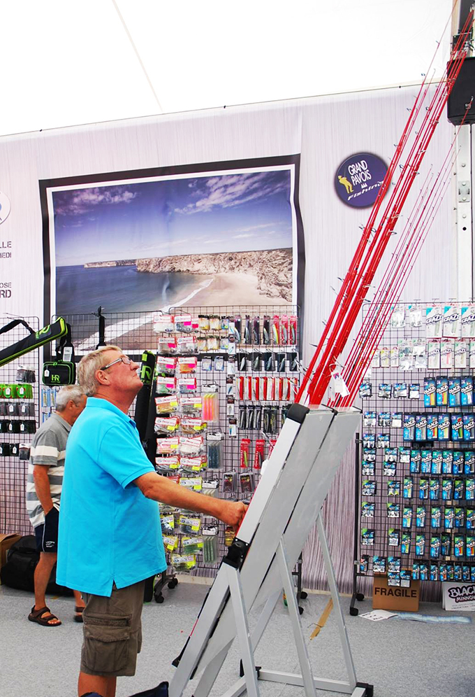 Retour sur le grand pavois fishing 2014 la rochelle ultimate fishing - Comptoir de la mer la rochelle ...