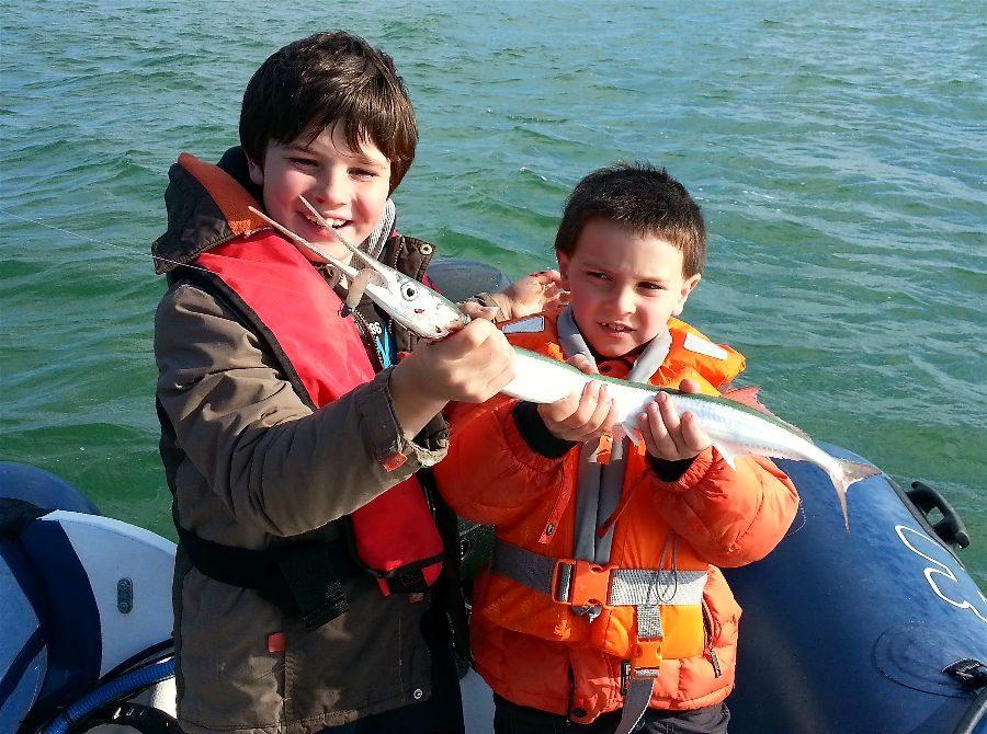 1er espadon voilier pour Elie !